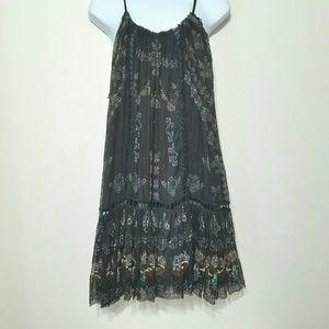 Free People FP One sleeveless swing dress black
